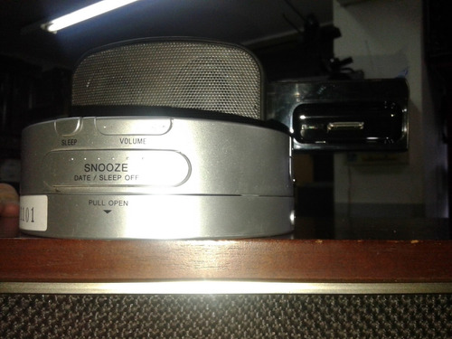 fm/am cd clock radio