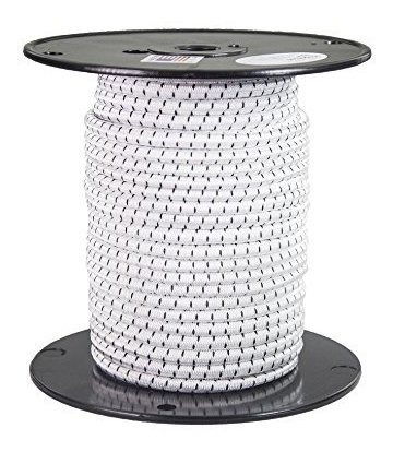 and More 5//16-in x 500 FT Tie Downs Customize with FMS Shock Cord Hooks Ravenox Elastic Shock Bungee Cord   Heavy Duty Bungy Cordage in Multiple Diameters and Lengths for DIY Projects