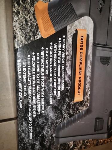 fn herstal pistola de balines plásticos