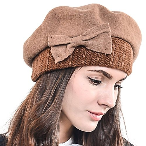 2e099d6cdd190 Fn story boina de invierno francesa lana para mujer cafe mco jpg 500x500 Invierno  boinas para