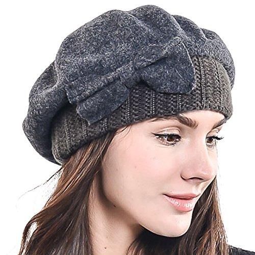 c8ae3043c1b24 Fn story boina de invierno francesa lana para mujer gris mco jpg 500x500 Invierno  boinas para