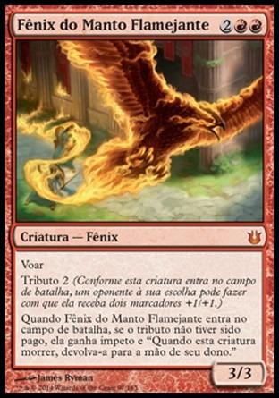 fênix do manto flamejante / flame-wreathed phoenix