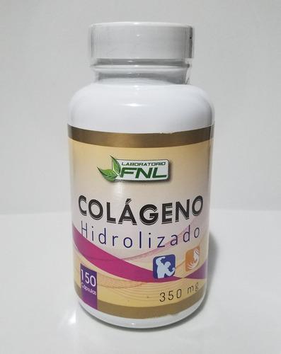 fnl colágeno hidrolizado 150 capsulas 350 mg