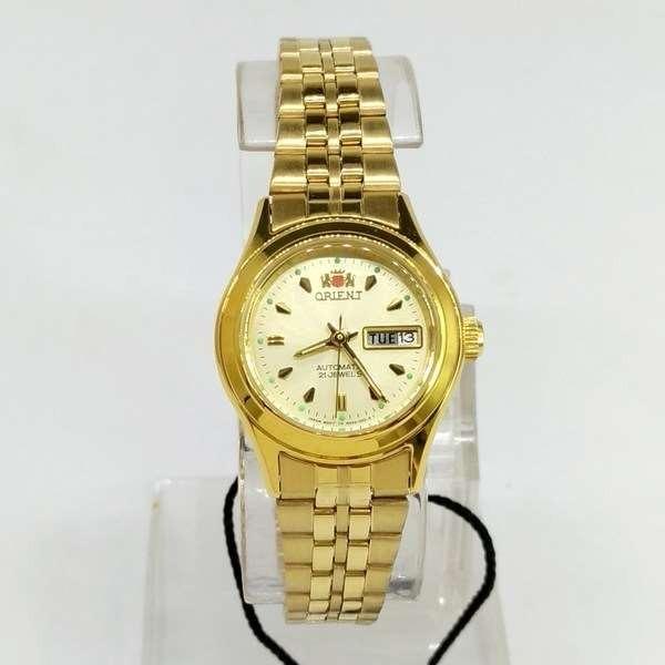 f34653186509d Fnq0400bc9 Relógio Feminino Orient Mini Automatico Dourado - R  399 ...