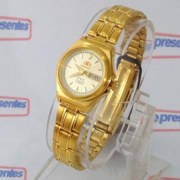 423d99e0967 Fnq1s002c9 Relógio Feminino Orient Automatico Dourado 24mm - R  445 ...