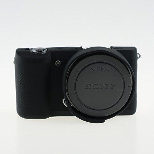 fnship - funda de silicona para cámara sony alpha a5100 a500