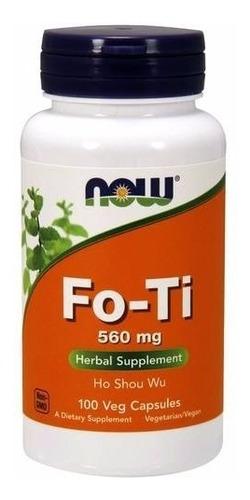 fo-ti 1120mg 100 cap - now foods evita cabelos brancos 560mg