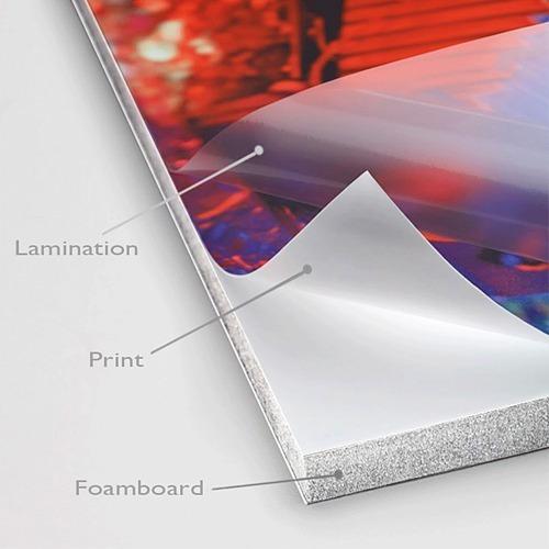 foam board 5mm blanco hoja completa 244x122cm diversos usos fotografía publicitario señalización foamboard