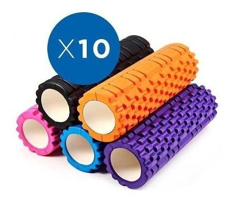 foam roller 10x pack  masaje espalda 34 cm x 15 cm sdmed