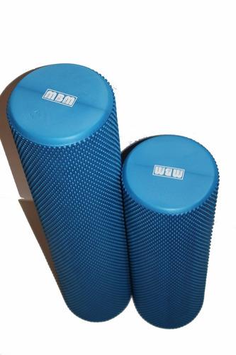 foam roller - goma eva - yoga 60x15 cms