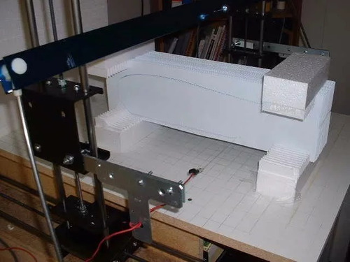 foamworks 4.0 cnc hot wire corte hilo caliente mach3 polyfan