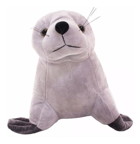 foca de pelúcia pequena