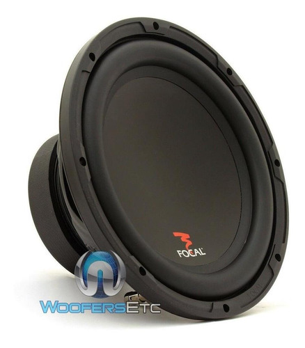 focal p25 10  400w 4 ohm coche audio subwoofer sub limp-4265