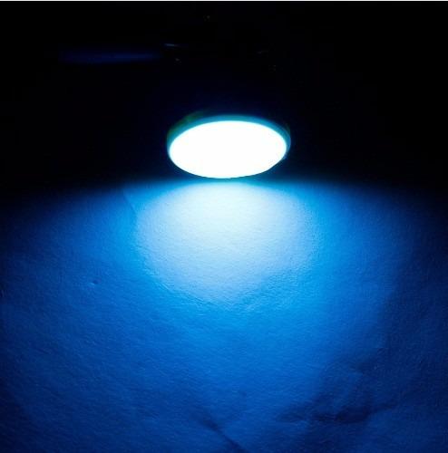 foco 1156 led cob azul cristal ice blue