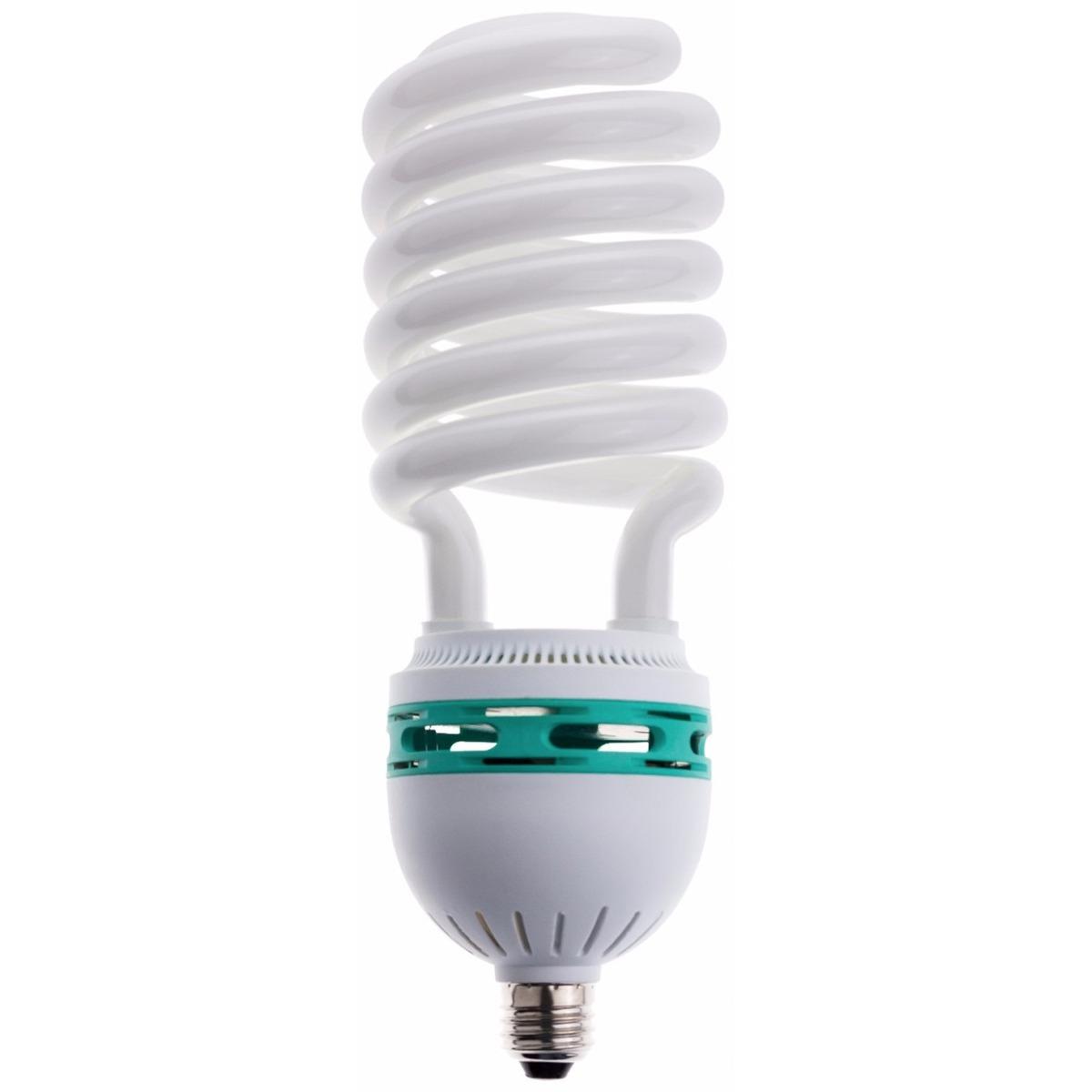 Foco ahorrador tipo espiral 135 w luz de dia e 27 b42565 en mercado libre - Focos led con luces de colores ...