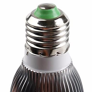 foco bulbo led de 6w ahorrador perfecta iluminacion e27 hm4