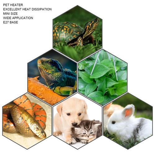 foco cerámica 100w incubadora termostato acuario reptiles