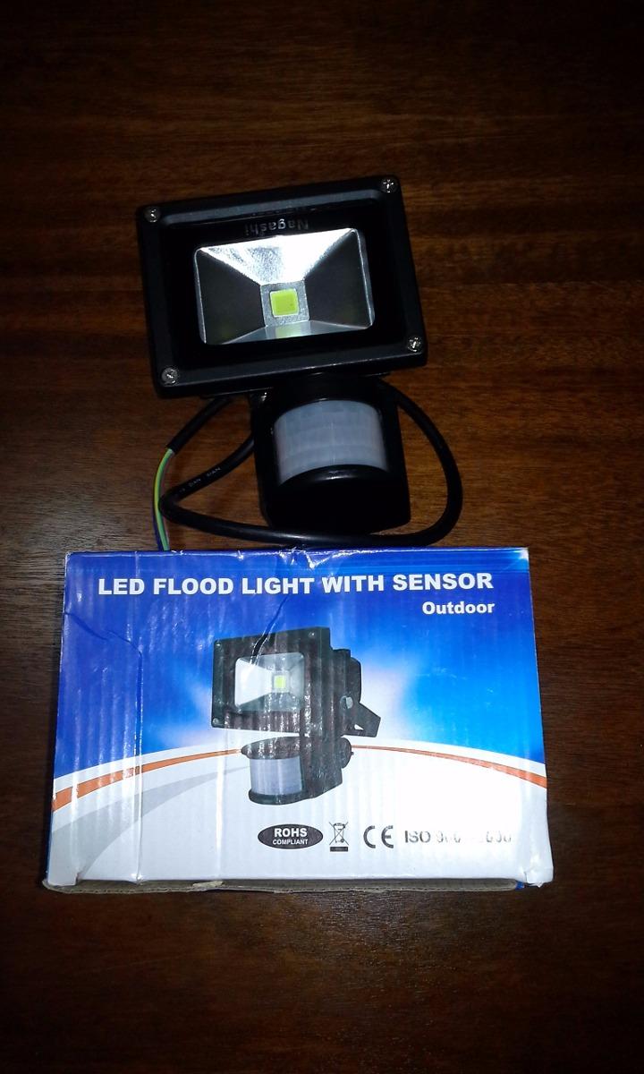 Foco chip led c sensor 10w en mercado libre - Sensor de movimiento para luz precio ...