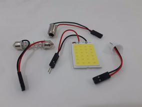 Panel 10 led para plafones interiorcon adaptadores