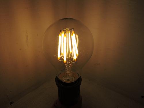 foco de filamento led 6w cálido adir
