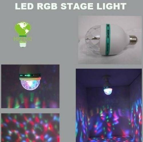 foco discoteca led laser rotatoria para fiestas o ambiente
