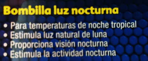foco exo terra nigth glo 50w foco nocturno reptil