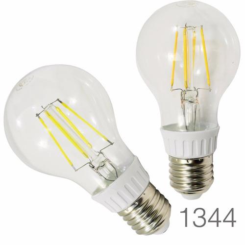 foco filamento led 5w luz calida o blanca standar ahorrador