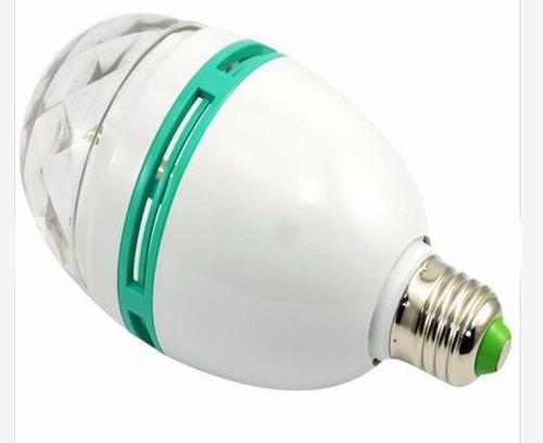 foco giratorio con luces de led de colores ahorrador 3 what