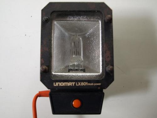 foco halogeno 220 v. unomat lx 801 funcionando correctamente
