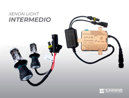 foco hid intermedio 35w oz tunning - un contacto