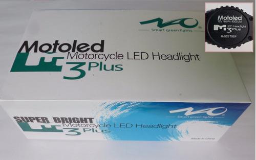 foco hyper led h4 4000 lumenes p/moto marca nao motoled
