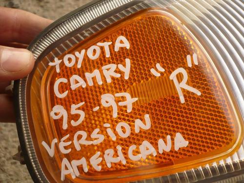 foco intermit camry 1996 americano  c/daños- lea descripción