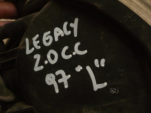 foco intermit legacy 2.0 1997 izq  c/daños- lea descripción