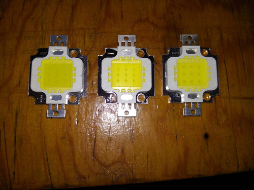 foco led 10w blanco frio (led 10w)