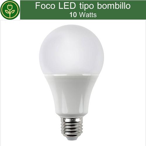 foco led 10w lampara e27 blanco frio bombillo ahorrador