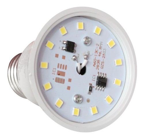 foco led 10w luz blanca fria ahorrador para casa e27 a19