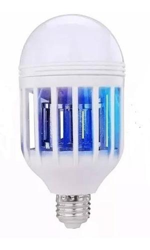 foco led 12w lampara mata mosquitos e insectos 3 funciones