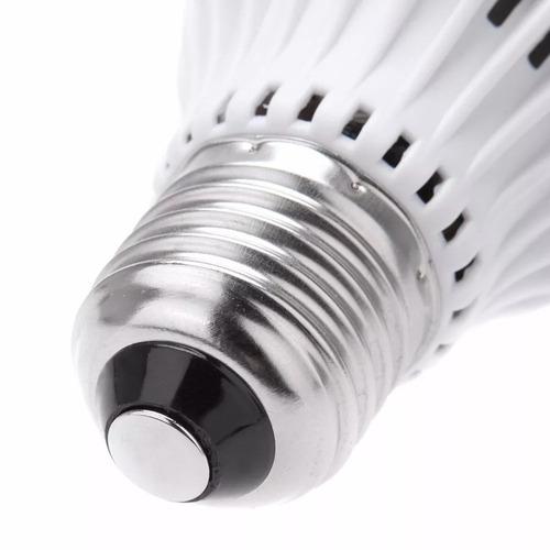 foco led 12w luz blanca entrada estándar e27