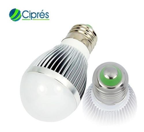 foco led 3 watts 360 lumenes a e27 120 lmw 85-265 vac cipres
