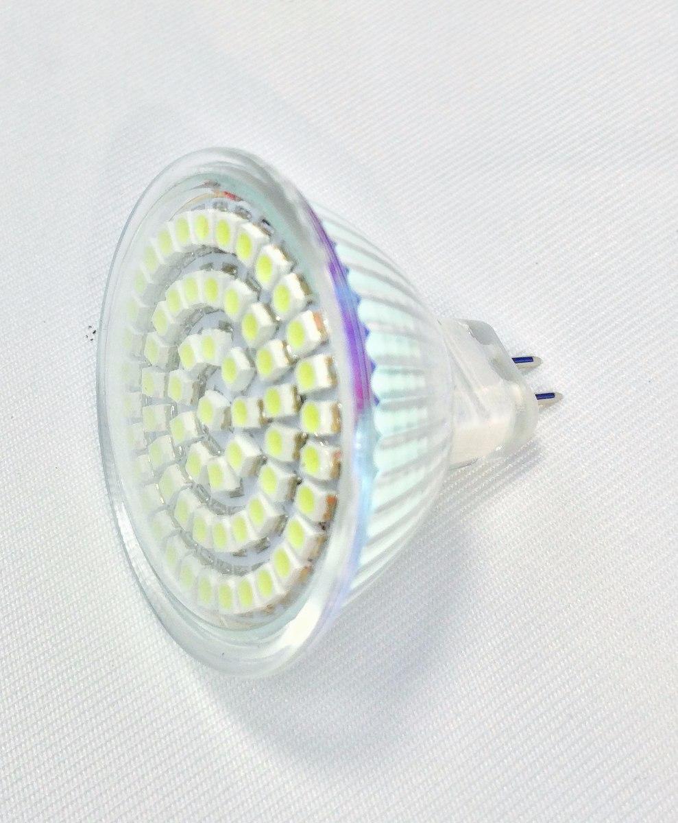 Foco Led 3 Watts Mr16 Gu5 3 Gx5 3 Empotrable Spot Lampara