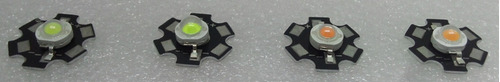 foco led  3w + disipador (chip led 3w) blanco frio