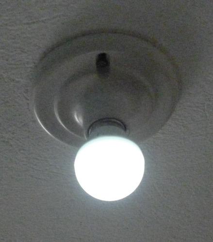 foco led 3w tipo bulbo ahorrador ecológico luz blanca/cálida