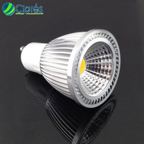 foco led 7 watts 840 lumenes mr16 gu10 120 lmw 85-265 cipres