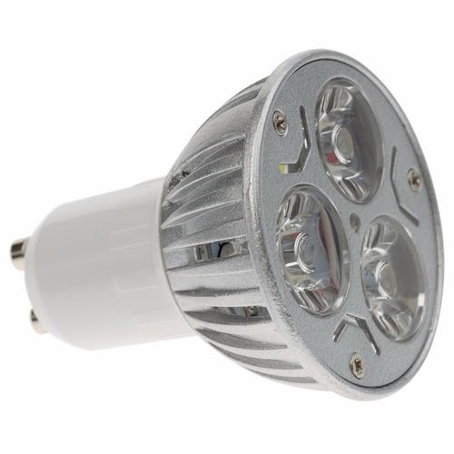 foco led de 3 watts luz calida con base mr16  b42656