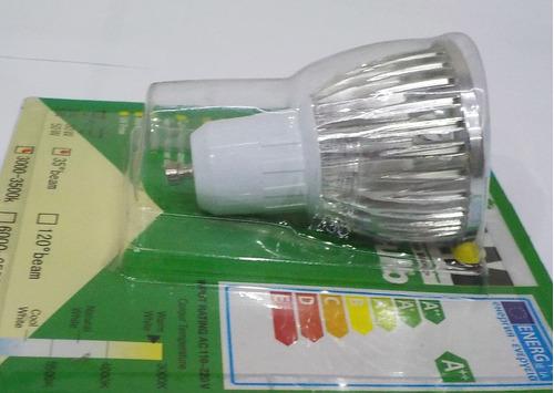 foco led djc 3w-c potencia: 3w, base: gu10