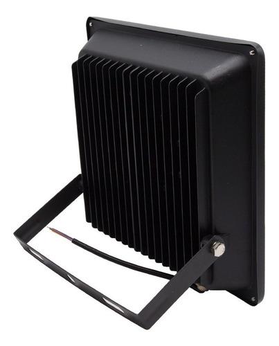 foco led embutido plano 50w multi chip ip66 4500 lm