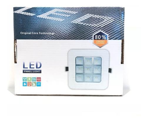 foco led empotrar p/yeso 9w/220v wtel3875 - tecsys oferta