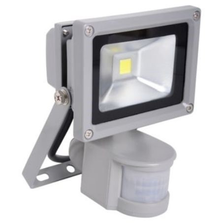 Foco led exterior con sensor de movimiento 10 w 549 00 for Detector movimiento exterior