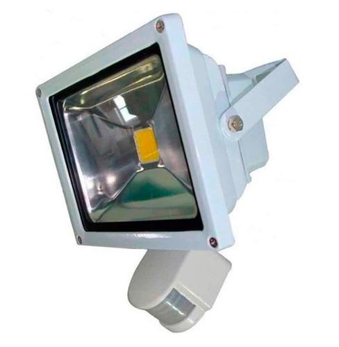 foco led exterior con sensor de movimiento 50w 4500 lúmenes
