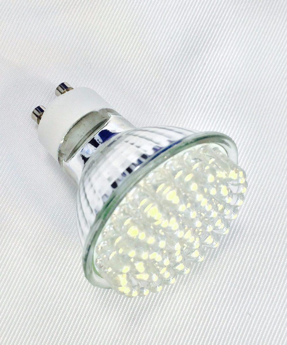 Foco led gu10 3w empotrable lampara ahorrador spot - Foco led empotrable ...